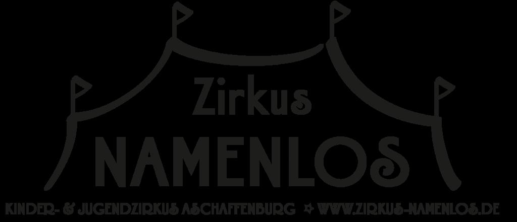 Zirkus Namenlos Logo Schwarz