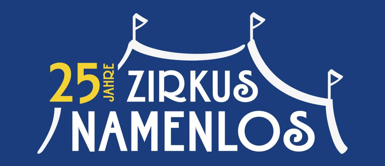 Zirkus-Namenlos-25-Jahre-blau-weiß